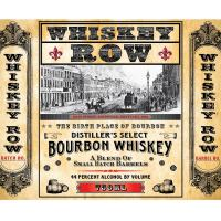 Whiskey Row Face Round