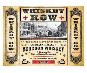 Whiskey Row Face Round