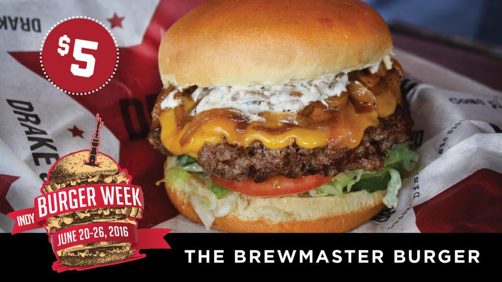 Indy Burger Week at Drake's Keystone