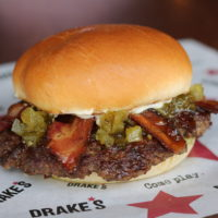 Drake's Cincinatti Burger Week BLT Burger