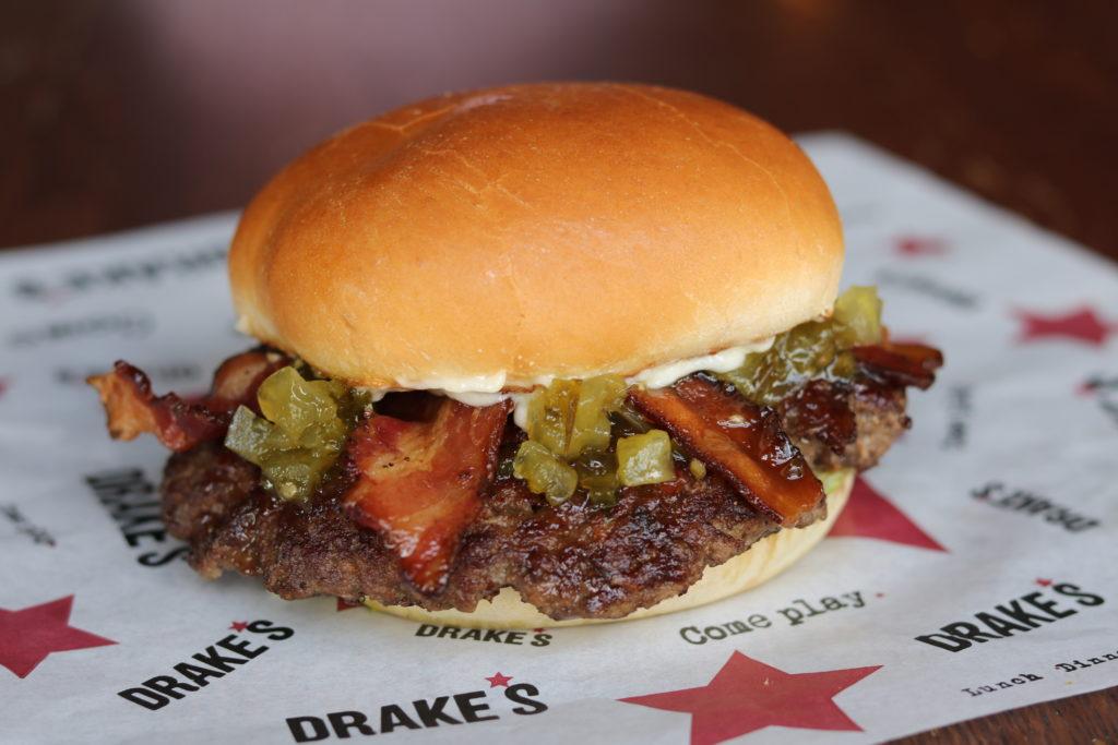 Drake's Nashville Burger Week BLT Burger